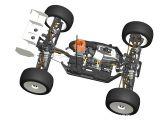 Serpent Cobra-T immagini CAD Truggy nitro 4WD 1/8
