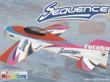 Safalero GreatPlanes  Sequence F3A 50 EP 3D Futaba Aeromodello Acrobatico ARF
