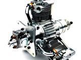 SAITO 84: Motore radiale a tre cilindri per aerei RC Big Scale