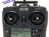 SANWA EXZES Z: Radio 4 canali con stick e telemetria