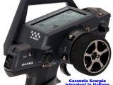 Sanwa MT4 2,4 GHz con Telemetria - Radiocomando digitale 4 canali per automodellismo - Scorpio