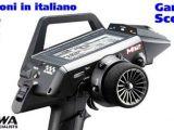 Radiocomando digitale a 4 canali Sanwa M12 - SCORPIO