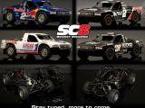 Team Associated SC8: Prima immagine dei quattro modelli