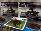 Scalextric Star Wars Speeder Bike 74-Z slot cars di Luke Skywalker e Paploo Ewok