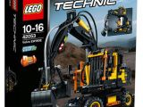 LEGO Technic: Volvo EW 160E - Escavatore gommato 42053