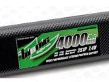 "Scorpio - Pacchi Batterie LiPo BIONIC ""Car 30C"" 4000mAh 2S1P 7,4V"