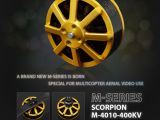 Scorpion M-Series: Nuovi motori brushless per multicotteri