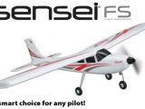 Flyzone Sensei FS: aereo con sistema di sgancio bombe