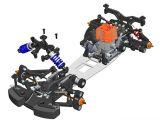 Serpent 733 - Immagini CAD - Automodello da Pista 1:10