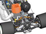 Serpent 966 - Immagini CAD del nuovo automodello 1:8
