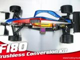 Speed Passion - Kit di conversione brushless per Serpent F180 Formula Uno Radiocomandata