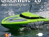 Motoscafo brushless ProBoat Shock Wave 26: Horizon Hobby