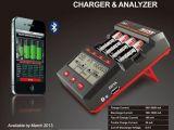 Caricatore con schermo LCD per batterie NiMH AAA - SkyRC