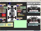 Software per modellismo - Tool gestione setup di un automodello radiocomandato - ROSS Motorsport Solutions