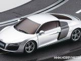 Dslot43 Audi R8 Argento: Slotcar Kyosho in scala 1:43