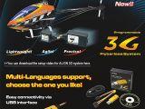Align 3G link - Sofware 3G Flybarless Windows XP, Vista e 7