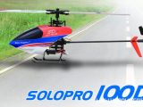 Nine Eagles Solo Pro 100D: elicottero flybarless 3D - Scorpio