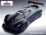 Speed Passion MazdaSpeed Furai prototype - Carrozzeria 190mm per automodelli 1/10