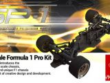 Speed Passion SP-1 F1: Telaio da formula 1 in scala 1/10