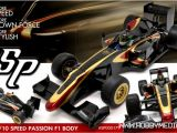 Carrozzeria Speed Passion F-68 per Formula Uno 1/10