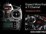 Spektrum DX7s: radiocomando 7 canali con ricevente AR8000 per elicotteri e aeroplani - Horizon Hobby