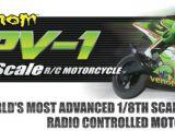 Venom GPV-1 moto Elettrica Radiocomandata scala 1:8