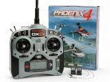 Simulatore Phoenix 4 con Spektrum DX6i e 2 riceventi AR400