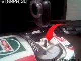 Stampanti 3D: Supporto videocamera per automodelli RC