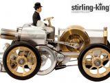 Steampunk: modellino con motore Stirling della Boehm