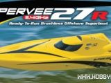 AquaCraft SuperVee 27R Brushless - Offshore radiocomandato 2.4GHz RTR
