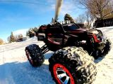 Swivel mount, Traxxas Summit e GoPro Hero sulla neve!