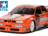 Tamiya Alfa Romeo Jagermeister 155 V6 su telaio TT-02