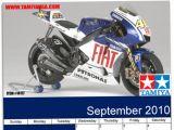 Tamiya Yamaha YZR-M1 09 Fiat - Calendario e Wallpaper