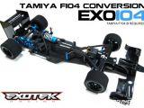Exotek EXO 104 - Telaio in fibra di carbonio per Tamiya F104