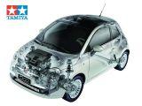 Tamiya Fiat 500 M03M RC - Scoop Fiera del giocattolo di Norimberga