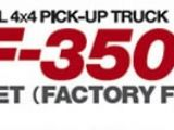 "Tamiya: Ford F350 in versione ""Full Operation Finished"""