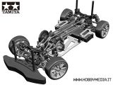 Tamiya TA05 High End Drift Chassis - Telaio da drifting 1/10