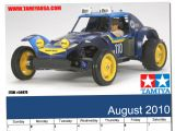 Tamiya - Calendario Agosto 2010 Holiday Buggy 2010 2WD