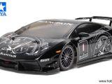 Tamiya Lamborghini Gallardo LP560-4 Super Trofeo su telaio TA05 ver.II in scala 1/10