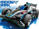 Tamiya Mini 4WD Shadow Shark su telaio AR Chassis