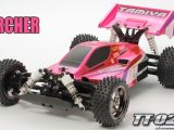 Buggy Tamiya Neo Scorcher - TT02B Bright Pink Metallic