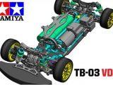 Tamiya TB03 VDS Drift: Shizuoka Hobby Show 2011