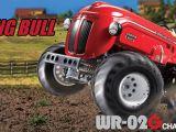 Tamiya Tumbling Bull 2WD - Trattore radiocomandato 1/10