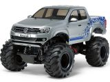 Tamiya Volkswagen Amarok Custom Lift 2WD in scala 1/10