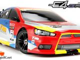 Team Magic E4JR II RTR Touring Car in scala 1/10