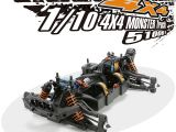 Team Magic E5 Monster Truck 4WD RTR in scala 1/10