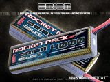 Team Orion IBS Rocket Packs - Batterie LiPo con connettore per il bilanciamento celle integrato