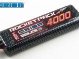 Team Orion - Batterie Lipo Rocket Pack 4000 mhA 25C