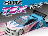 Blitz TSX: Carrozzeria 190 mm per Touring Car 1/10