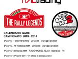 Calendario e regolamento Campionato The Rally Legends BACK 2 FUN 2013 - 2014